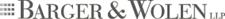 Barger & Wolen LLP logo