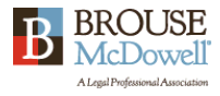 Brouse McDowell logo