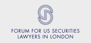 The Forum for US Securities Lawyers in London logo