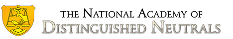 National Academy of Distinguished Neutrals - Arbitration Newsstand