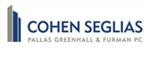 Firm logo for Cohen, Seglias, Pallas, Greenhall & Furman PC