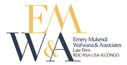 Firm logo for Emery Mukendi Wafwana & Associates