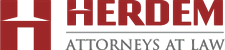 Firm logo for HERDEM Attorneys at Law