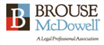 Firm logo for Brouse McDowell