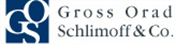 Firm logo for Gross Orad Schlimoff & Co