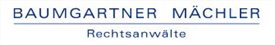 Firm logo for Baumgartner Mächler
