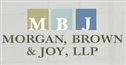Firm logo for Morgan, Brown & Joy LLP