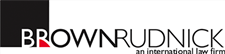 Firm logo for Brown Rudnick LLP