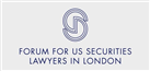 Firm logo for The Forum for US Securities Lawyers in London