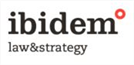 Firm logo for Ibidem Law & Strategy
