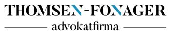 THOMSEN-FONAGER Advokatfirma logo