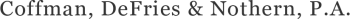 Coffman, DeFries & Nothern, PA logo