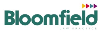 Bloomfield Law logo