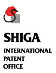Shiga International Patent Office logo
