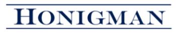 Honigman Miller Schwartz and Cohn LLP logo