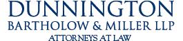 Dunnington Bartholow & Miller LLP logo