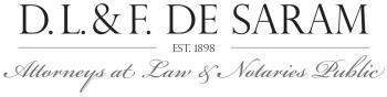 DL & F De Saram logo
