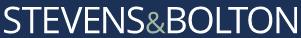 Stevens & Bolton LLP logo