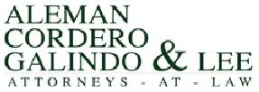 Aleman Cordero Galindo y Lee logo