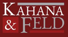 Kahana & Feld LLP logo