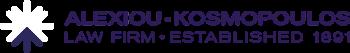 Alexiou Kosmopoulos Law logo