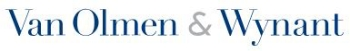 Van Olmen & Wynant logo