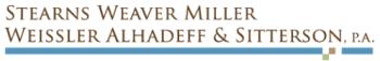 Stearns Weaver Miller Weissler Alhadeff & Sitterson PA logo