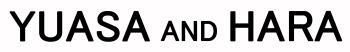 YUASA and HARA logo