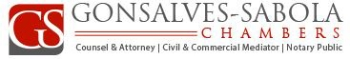 Gonsalves-Sabola Chambers logo