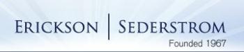 Erickson Sederstom PC logo