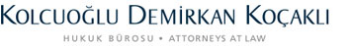 Kolcuoğlu Demirkan Koçaklı Attorneys at Law logo