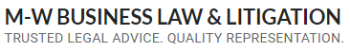 M-W Business Law & Litigation logo