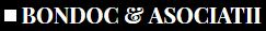 Bondoc & Asociatii logo