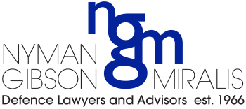 Nyman Gibson Miralis logo