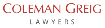 Coleman Greig Lawyers logo