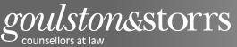 Goulston & Storrs PC logo