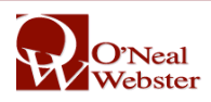 O'Neal Webster logo