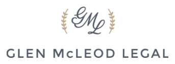 Glen McLeod Legal logo