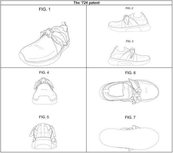 Shoe Design Patents Again