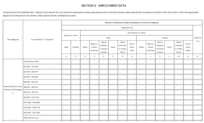 Don't Dally on Your Data: Pay Data Required on EEO-1 Forms