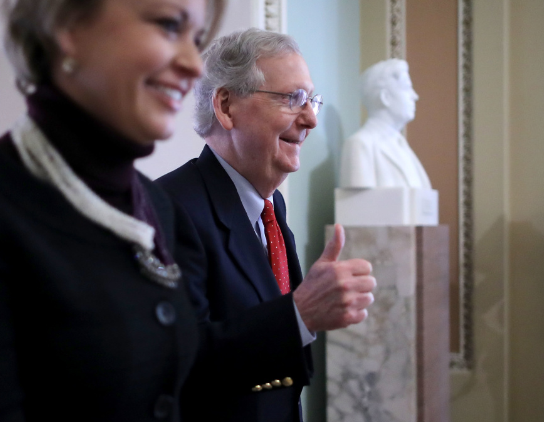 House Majority Leader Kevin McCarthy forecasts tax vote next week