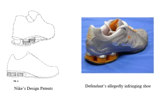 Deckers' design patent infringement